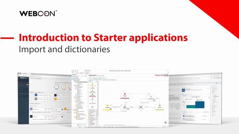 WEBCON BPS Starter - introduction